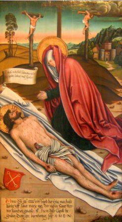 Lamentation of Christ   Bernhard Strigel   Oil Painting