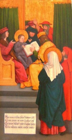 Jesus and the Scribes   Bernhard Strigel   Oil Painting