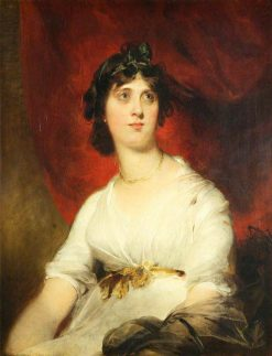 Mrs Cecilia Lock | Thomas Lawrence | Oil Painting
