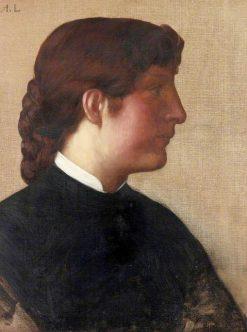 Portrait of a Lady | Alphonse Legros | Oil Painting