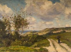 The Road to the Sea | Herbert Hughes Stanton | Oil Painting