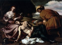Tancred and Erminia | Alessandro Turchi | Oil Painting