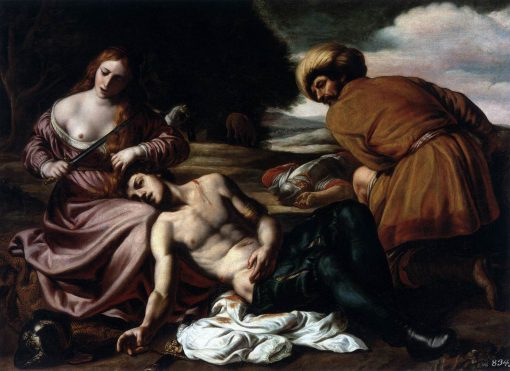 Tancred and Erminia   Alessandro Turchi   Oil Painting