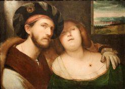 A Loving Couple | Altobello Melone | Oil Painting