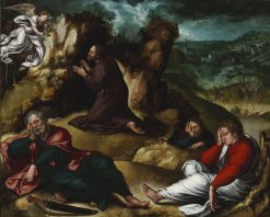 Agony in the Garden | Bernaert van Orley | Oil Painting