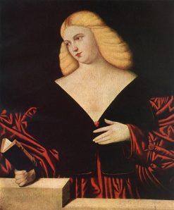 Portrait of a Woman   Bernardino Licinio   Oil Painting