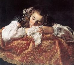 Sleeping Girl | Domenico Fetti | Oil Painting