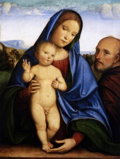The Holy Family | Francesco Francia | Oil Painting