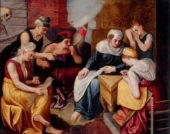 Allegory of Youth and Old Age | Frans Floris | Oil Painting