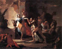 Rebecca and Eliezer   Franz Anton Maulbertsch   Oil Painting