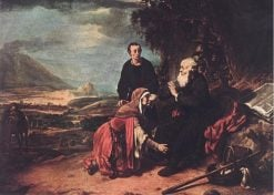 Prophet Eliseus and the Woman of Sunem | Gerbrand van den Eeckhout | Oil Painting