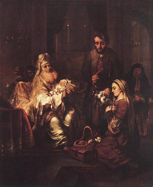 Presentation in the Temple | Gerbrand van den Eeckhout | Oil Painting