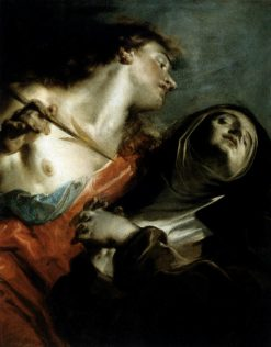 The Ecstasy of St Theresa | Giuseppe Bazzani | Oil Painting