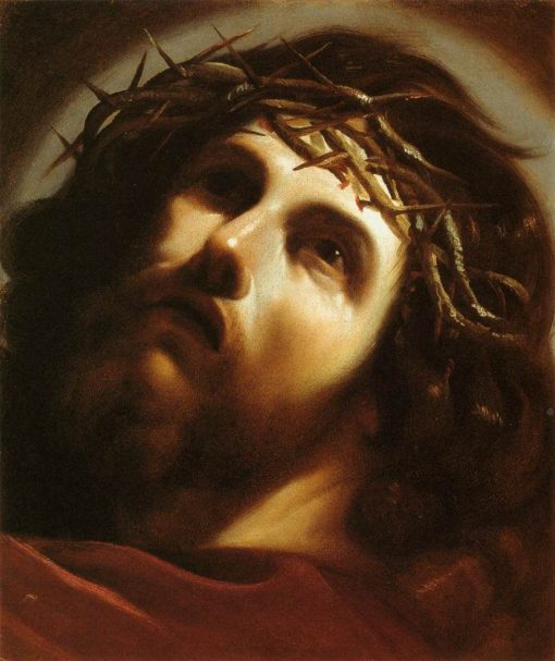 Christ Crowned with Thorns   Guercino   Oil Painting
