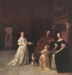 Family Group | Jacob Ochtervelt | Oil Painting