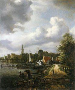View of Amsterdam | Jacob van Ruisdael | Oil Painting