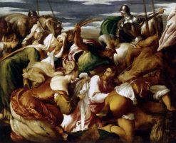 The Road to Calvary   Jacopo Bassano   Oil Painting
