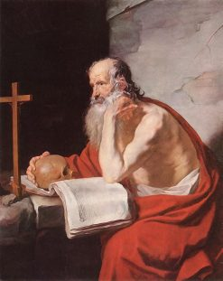 Saint Jerome | Jacques Blanchard | Oil Painting