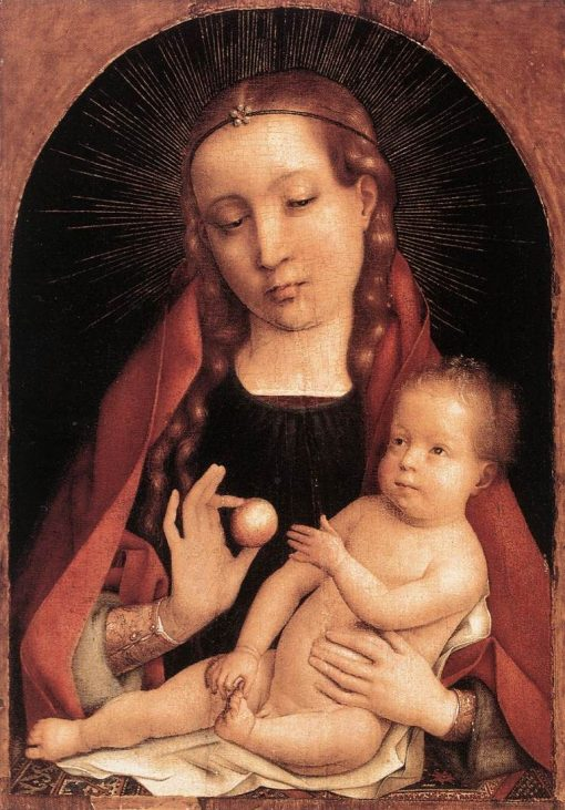 Virgin and Child   Jan Provoost   Oil Painting