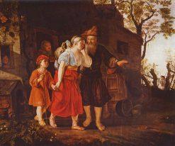 The Travellers | Jan Victors | Oil Painting