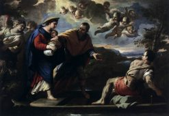 Flight into Egypt | Luca Giordano | Oil Painting