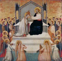 Coronation of the Virgin | Maso di Banco | Oil Painting
