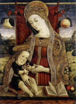 Madonna and Child | Vittore Crivelli | Oil Painting