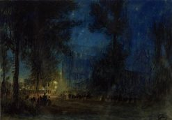 Salisbury | Albert Goodwin | Oil Painting