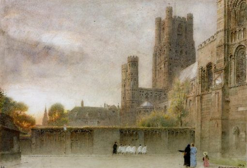 Ely Cathedral | Albert Goodwin | Oil Painting