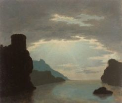 Rocky Bay Scene | Alexander Cozens | Oil Painting