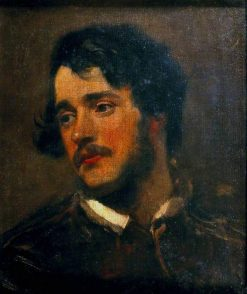 Portrait of a Man | Alfred George Stevens | Oil Painting