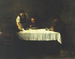 Le repas des pauvres | Alphonse Legros | Oil Painting