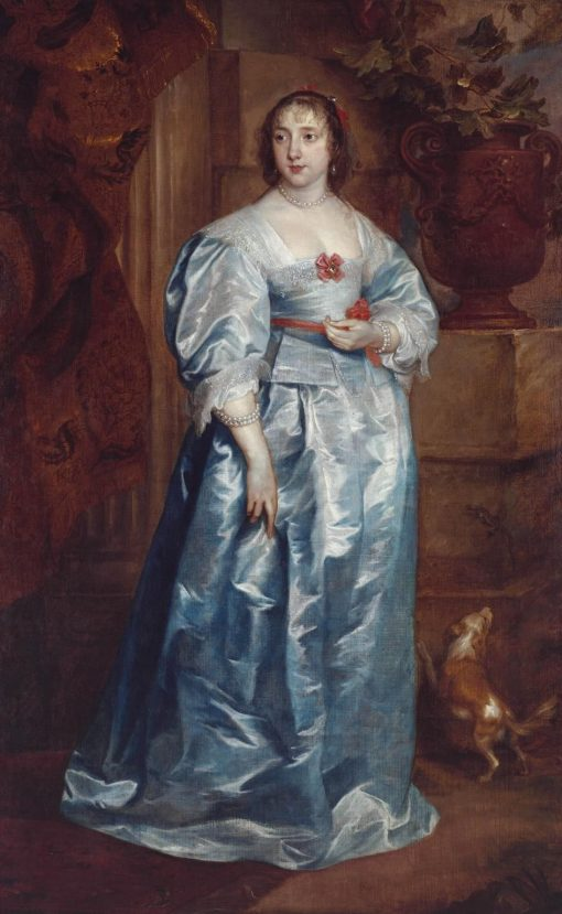 A Lady of the Spencer Family | Anthony van Dyck | Oil Painting