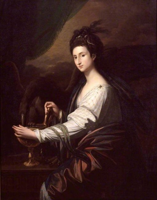 Mrs Worrell as Hebe | Benjamin West | Oil Painting