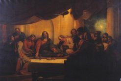 The Last Supper | Benjamin West | Oil Painting