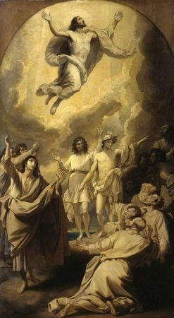 Sketch for 'The Ascension' | Benjamin West | Oil Painting
