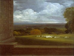 View from the Terrace at Windsor | Benjamin West | Oil Painting