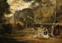 A Picnic | David Wilkie | Oil Painting