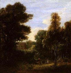 A Woody Landscape | David Wilkie | Oil Painting