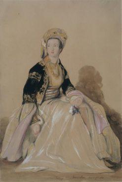 Mrs Elizabeth Young in Eastern Costume | David Wilkie | Oil Painting