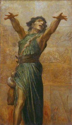 Jonah   George Frederic Watts   Oil Painting