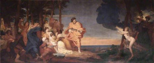 A Story from Boccaccio | George Frederic Watts | Oil Painting