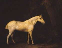Horse in the Shade of a Wood | George Stubbs | Oil Painting