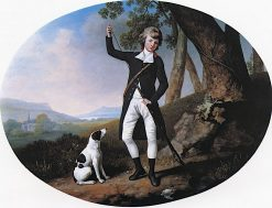 Portrait of a Young Gentleman Out Shooting | George Stubbs | Oil Painting
