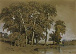 Twickenham | James Duffield Harding | Oil Painting