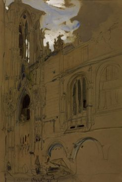Study of Architecture at Rouen | James Holland | Oil Painting