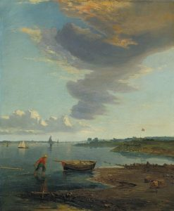 The Thames below Woolwich | James Holland | Oil Painting