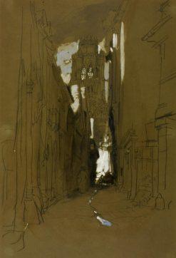 St Ouen: Rouen | James Holland | Oil Painting