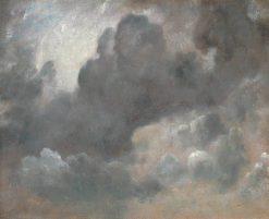 Cloud Study   John Constable   Oil Painting