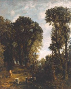 Trees at Hampstead | John Constable | Oil Painting